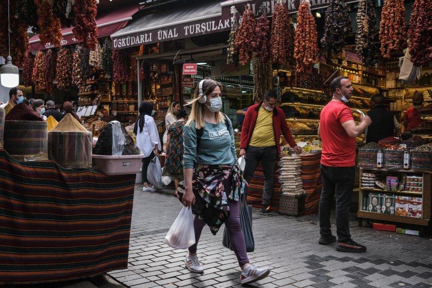 пандемията забавя ход турция