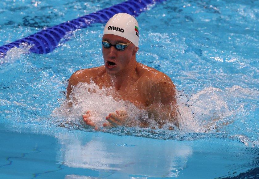 Отлично представяне на Любомир Епитропов, ще плува на 1/2-финал