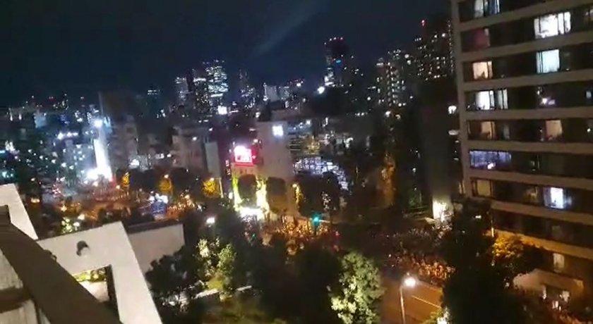 японците протестират игрите време церемонията видео