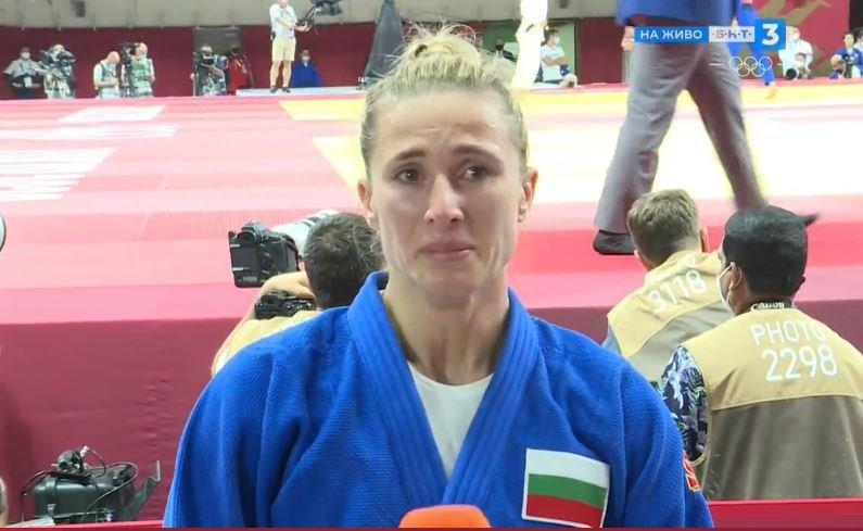 ивелина илиева напусна олимпиадата тежка битка обляна сълзи