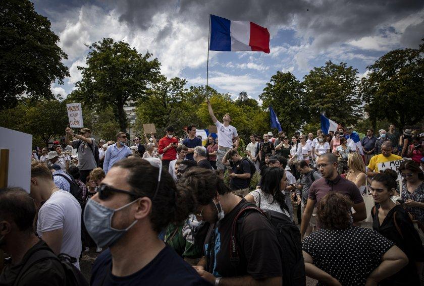 """От Сидни до Париж: Неваксинирани искат """"свобода"""""""