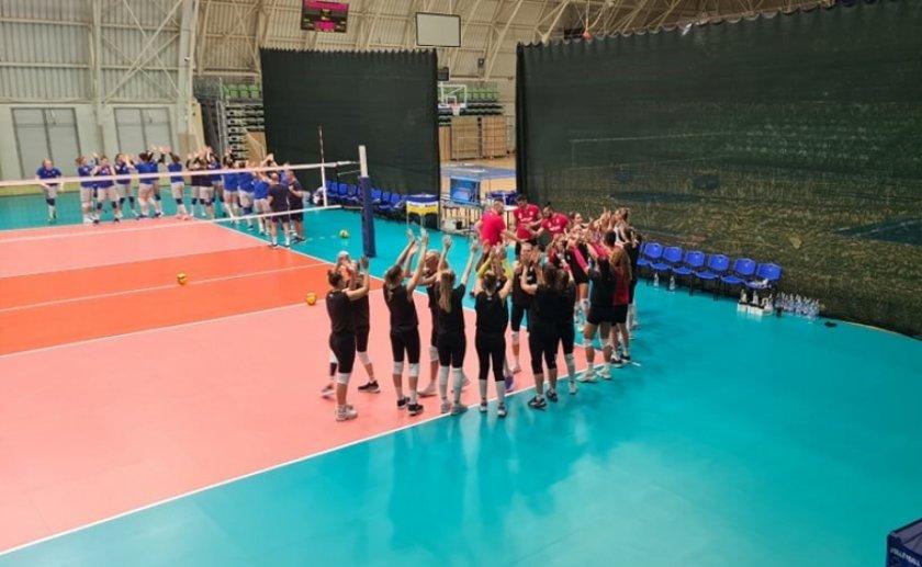 Волейболистките надиграха Украйна и във втората проверка
