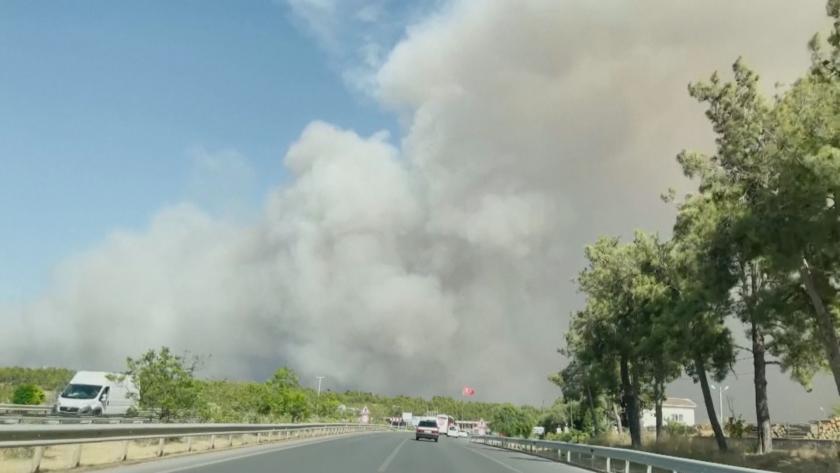 Турските власти са започнали разследване на причините за големия пожар