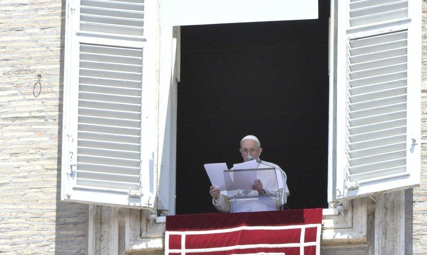 папа франциск олимпийските игри бъдат знак надежда