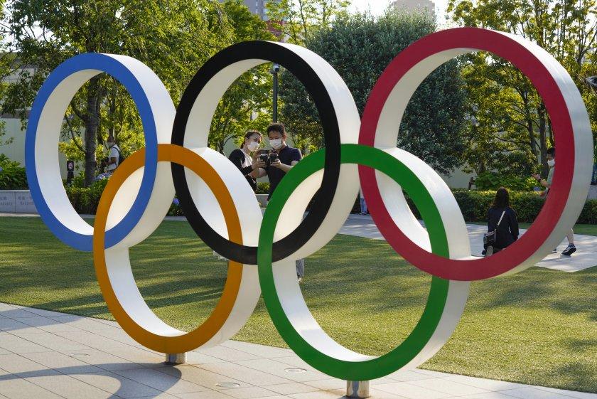 Олимпиада кръгове лого