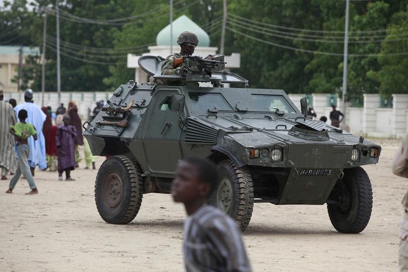 нигерийската армия откри отвлечена боко харам ученичка бебе
