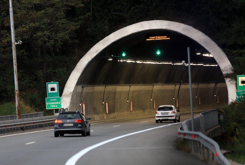 ограничават движението тирове тона тунел ечемишка