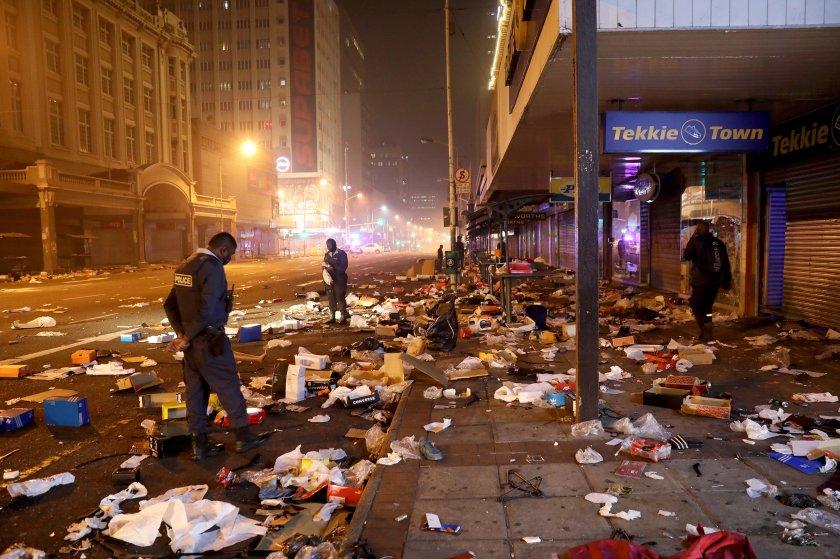 276 жертви безредиците юар