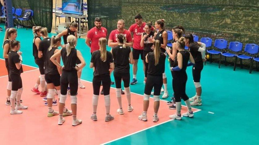 волейболните националки победиха украйна контрола