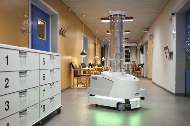 първият робот дезинфекция covid пристига българия