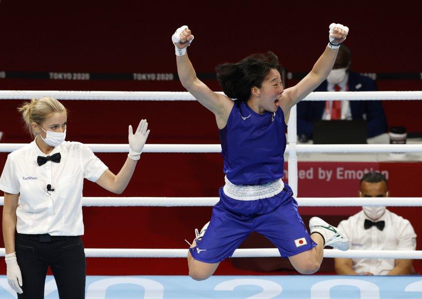 сена ирие спечели първо злато япония бокса