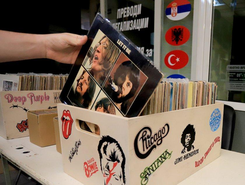 Базар на грамофонните плочи събира меломаните на София