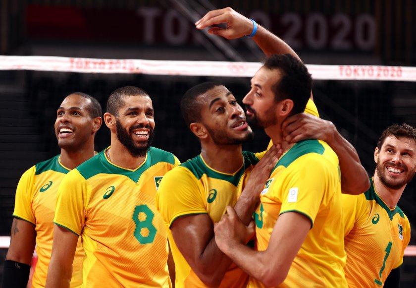 бразилия русия уредиха нова среща волейболния турнир