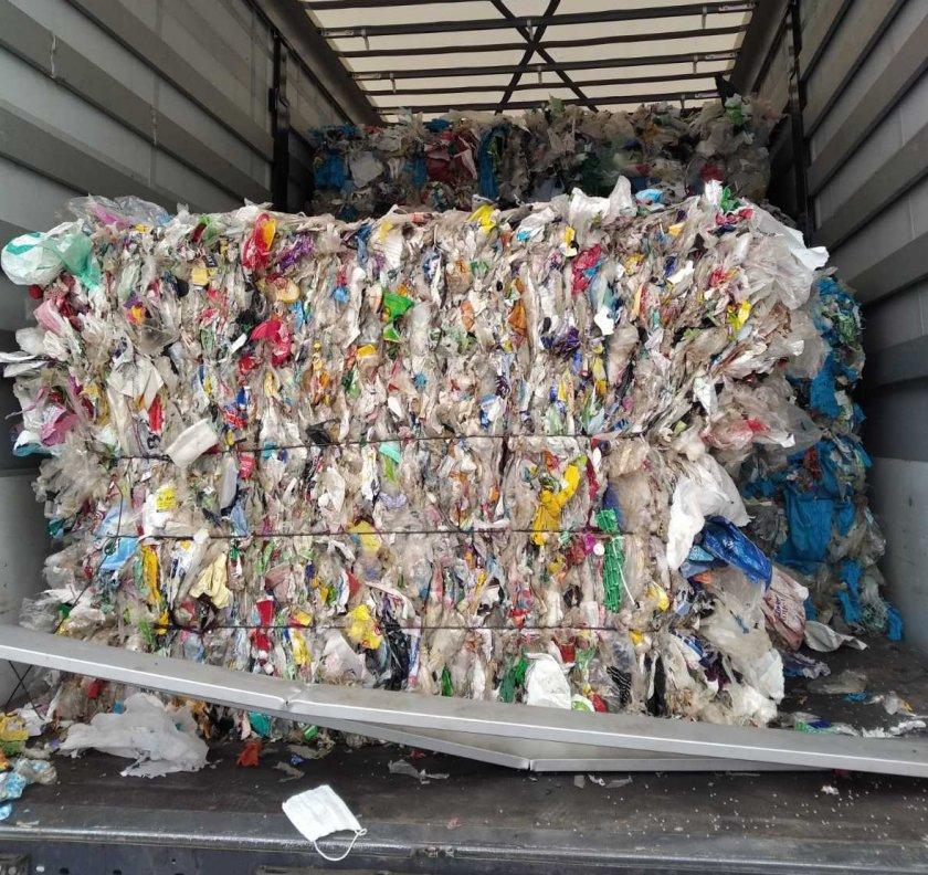 Вносът на боклук, който не е предназначен за гориво ще