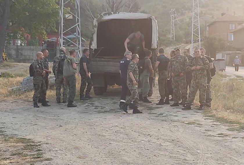 военни техника участват гасенето пожари областите хасково благоевград пловдив