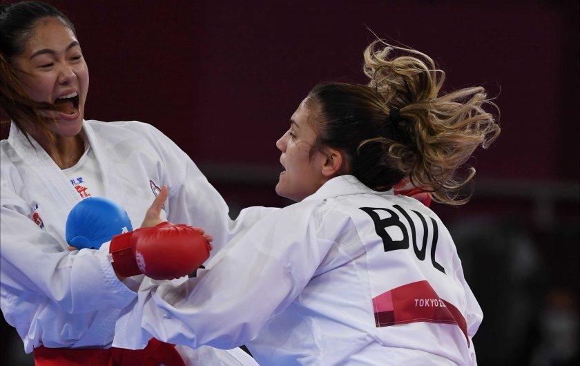един медал ивет горанова прави фурор олимпийското карате