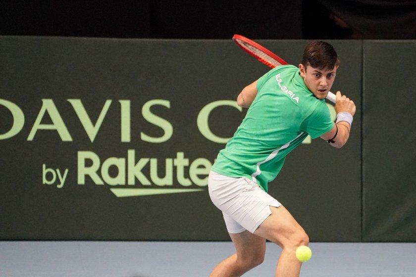 Александър Лазаров е на 1/4 финал в Грузия