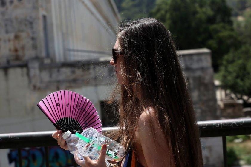 Южна Европа е в плен на екстремни горещини и пожари