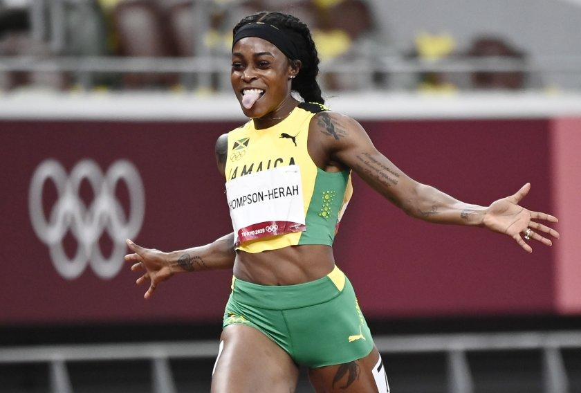 илейн томпсън втори пореден олимпийски дубъл спринта