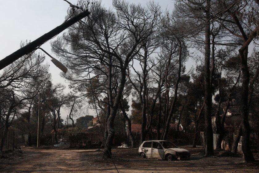 мвнр данни пострадали българи пожарите атина райони гърция