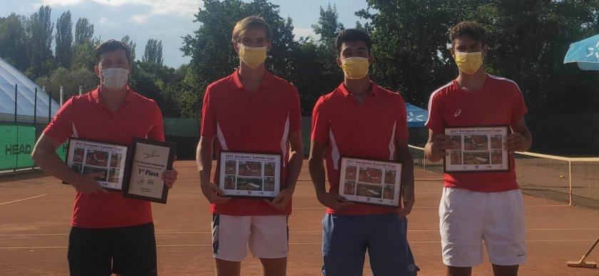 тенисистите българия триумфираха титлата европейската отборна купа киев