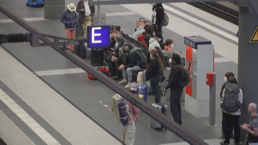 Стачка в Германия: Протест на машинистите блокира 700 влака
