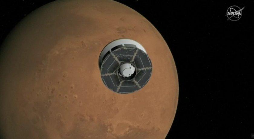 """""""Пърсивиърънс"""" изгуби проба от марсианска скала"""