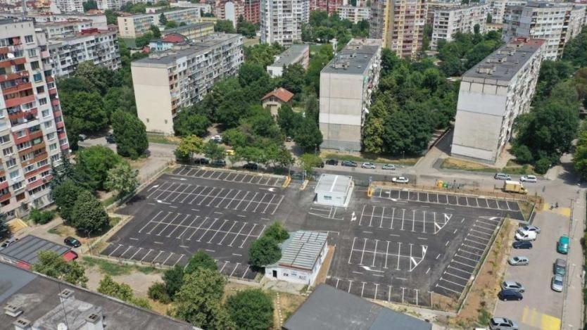 """Откриват новия oбществен парĸинг в столичния квартал """"Надежда"""" на 13 август"""