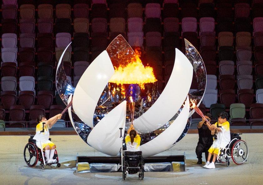 Параолимпийските игри в Токио бяха официално открити с красива церемония