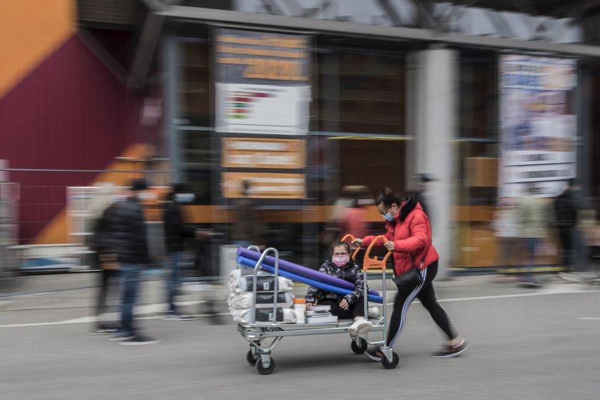 Във Виена ваксинират в супермаркетите
