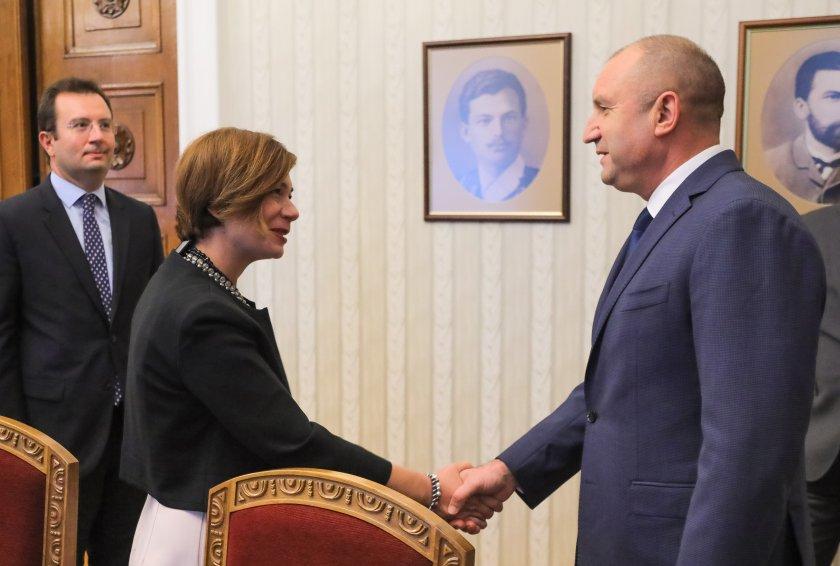 Румен Радев проведе среща с посланика на Турция у нас