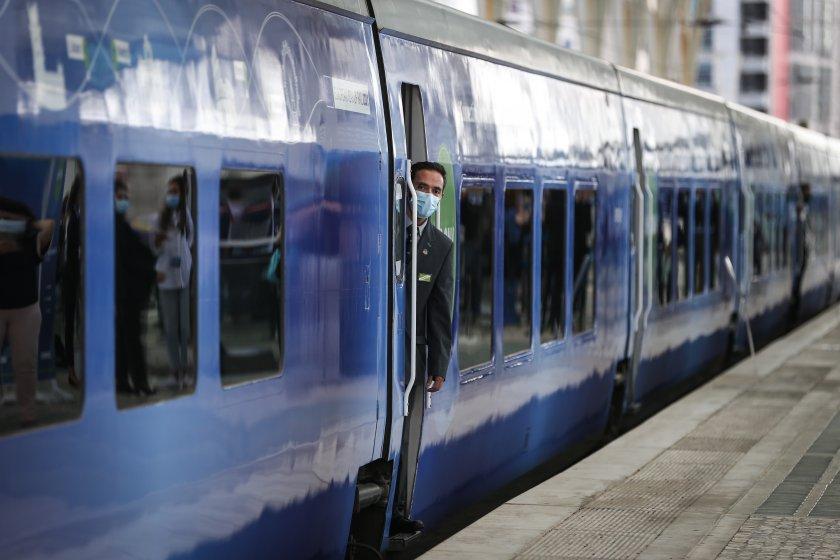Специален влак, свързващ цяла Европа, започва своето пътуване