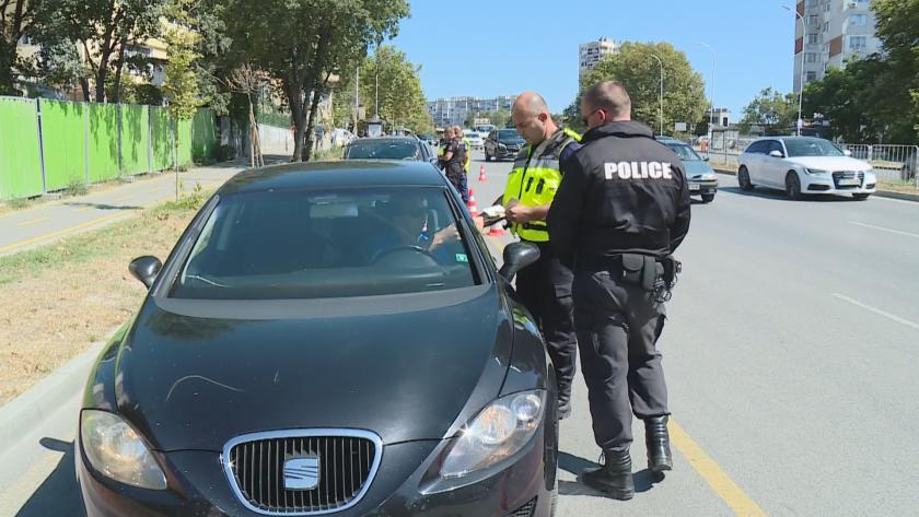 Акция за дрогирани шофьори във Варна (Видео)
