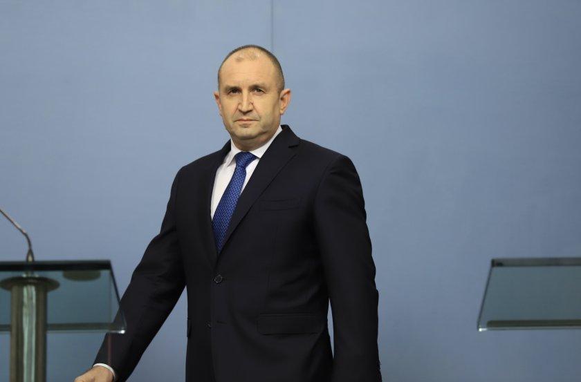 Президентът Румен Радев ще представи структурата, състава и приоритетите на