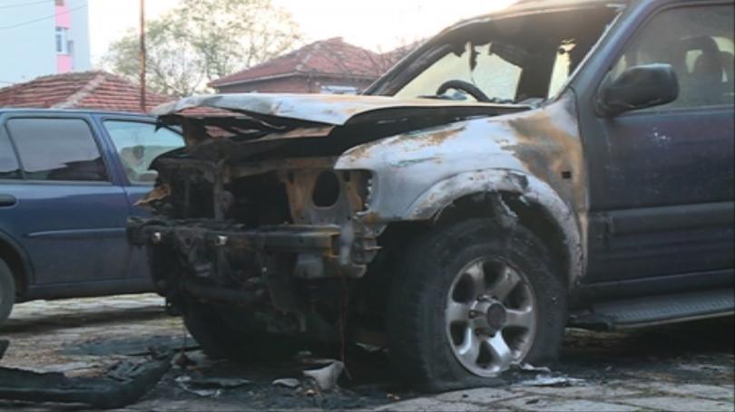 Умишлен палеж на автомобил в Бургас