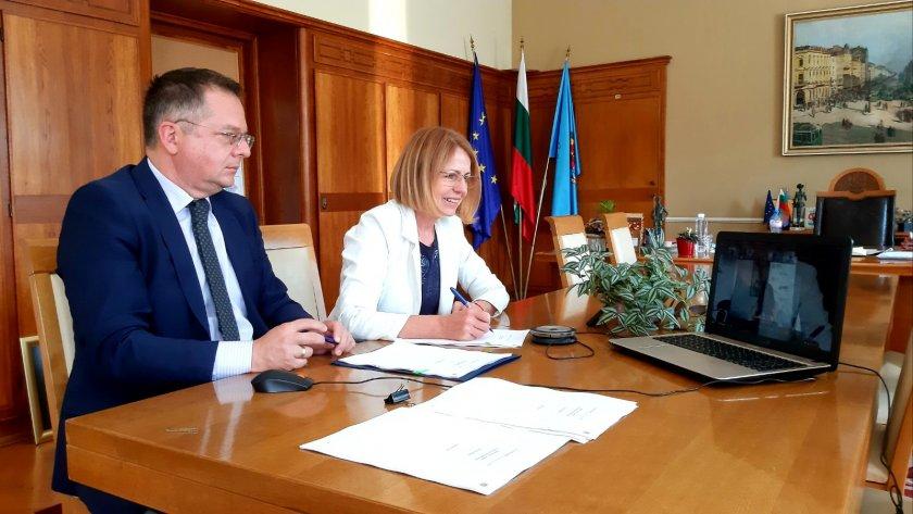 Столичната община подписа договор за заем от 60 млн. евро за устойчиви проекти за мобилност