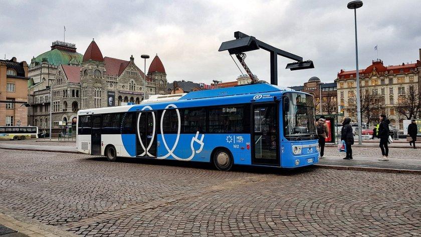 електробуси движат мрежата градския транспорт пловдив