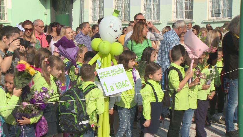 Първокласниците в Русенско са 100 повече от миналата година