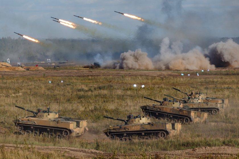 русия беларус мащабни военни учения