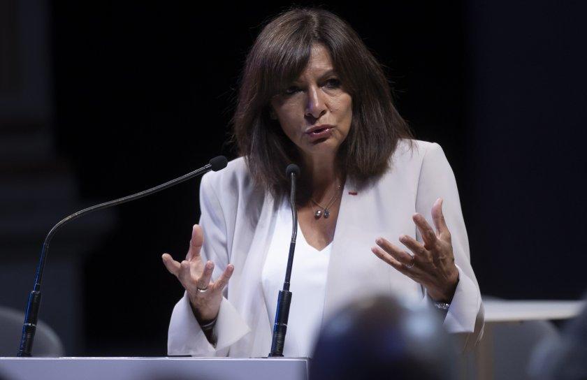 кметът париж идалго кандидатира президент франция