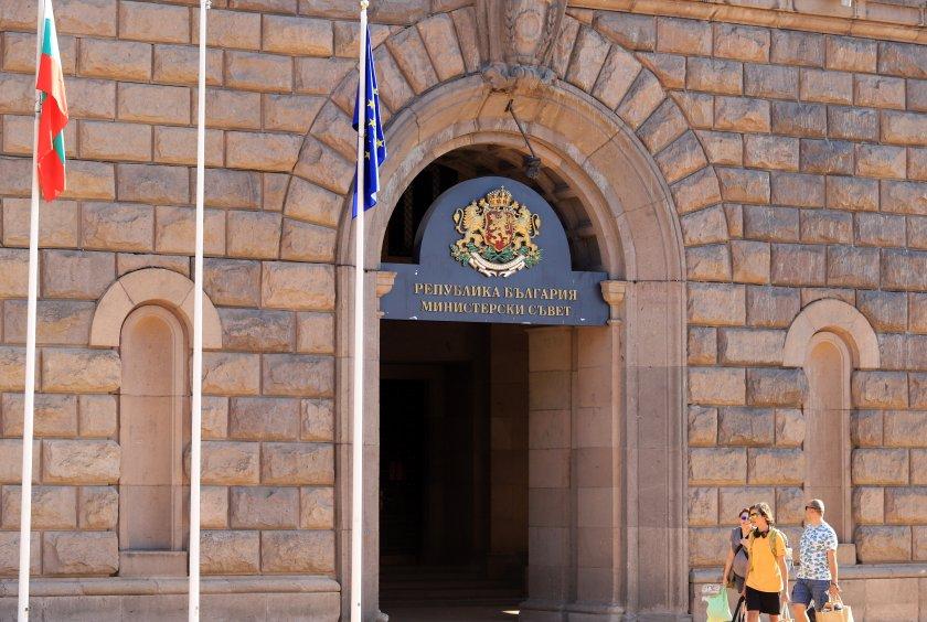 Министрите на икономиката Кирил Петков и на туризма - Стела