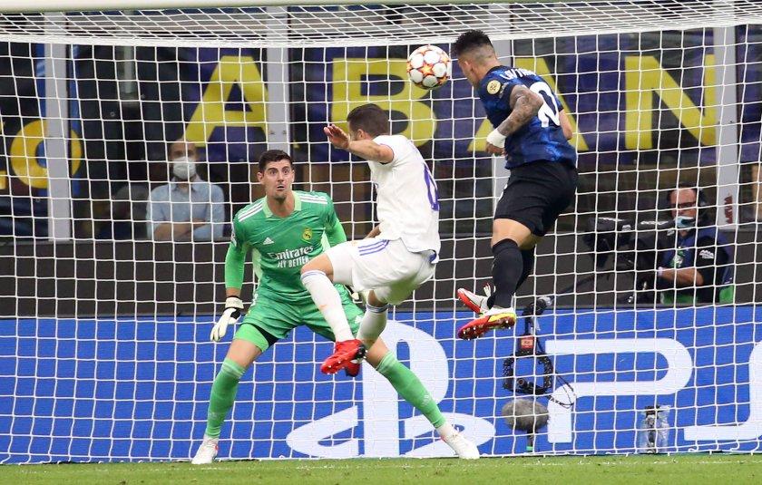 Реал Мадрид излъга Интер в самия край
