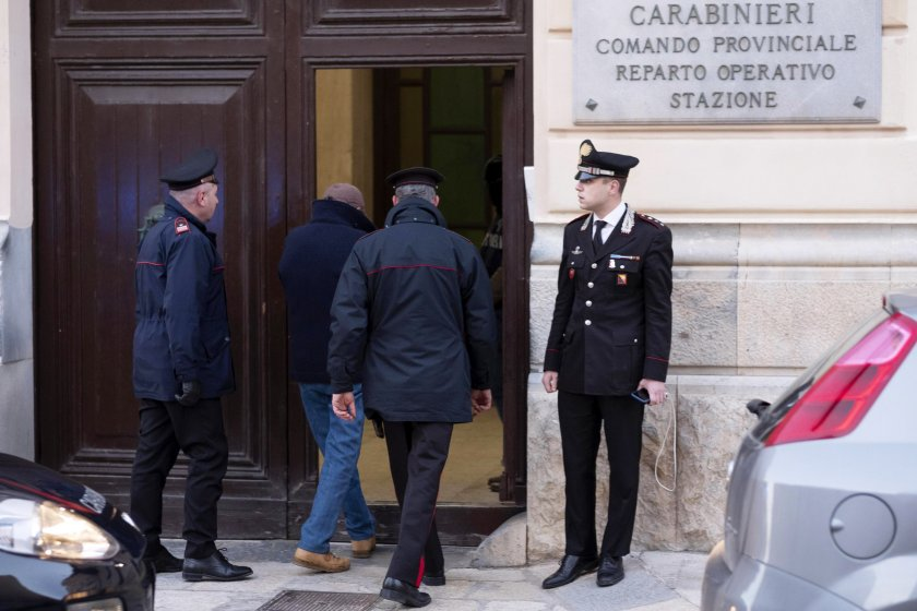 мафиоти ндрангета задържани акция италия