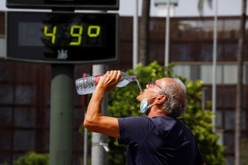климатичните промени удвоили горещите дни света температури градуса