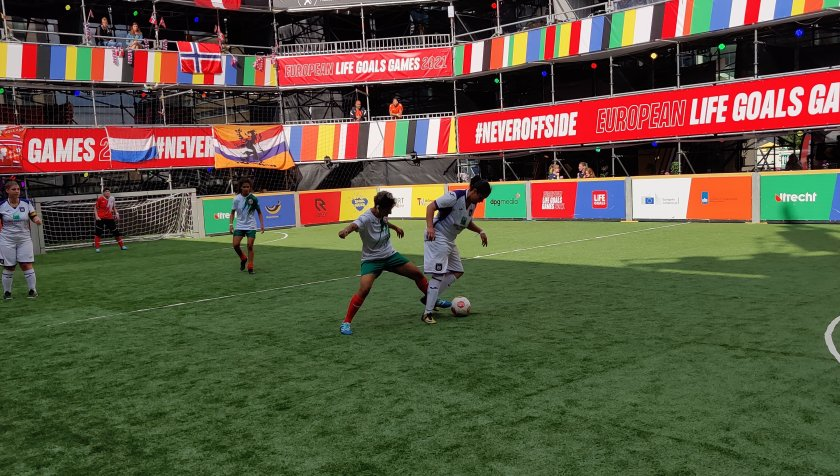 женският bdquoотбор надеждатаldquo полуфинал европейското нидерландия