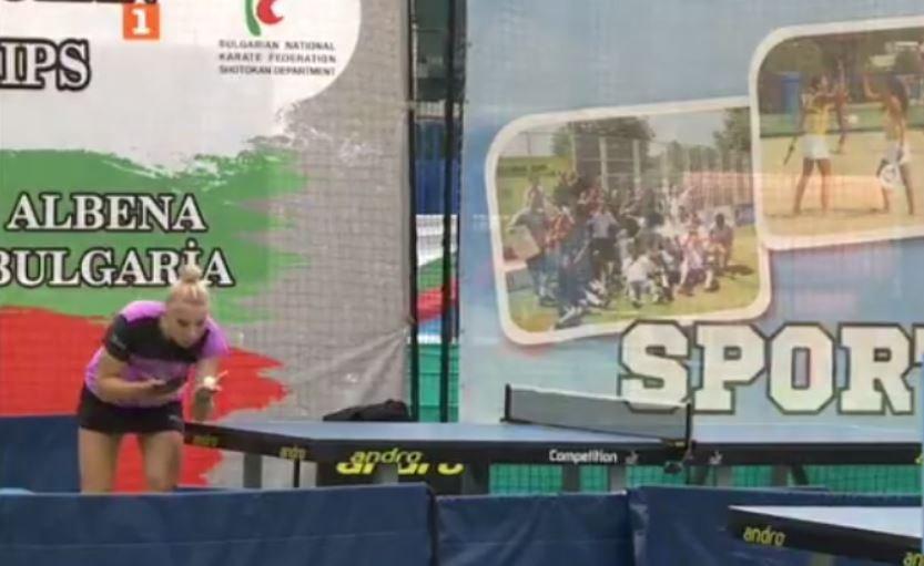 България с бронз на двойки жени от Балканското по тенис на маса