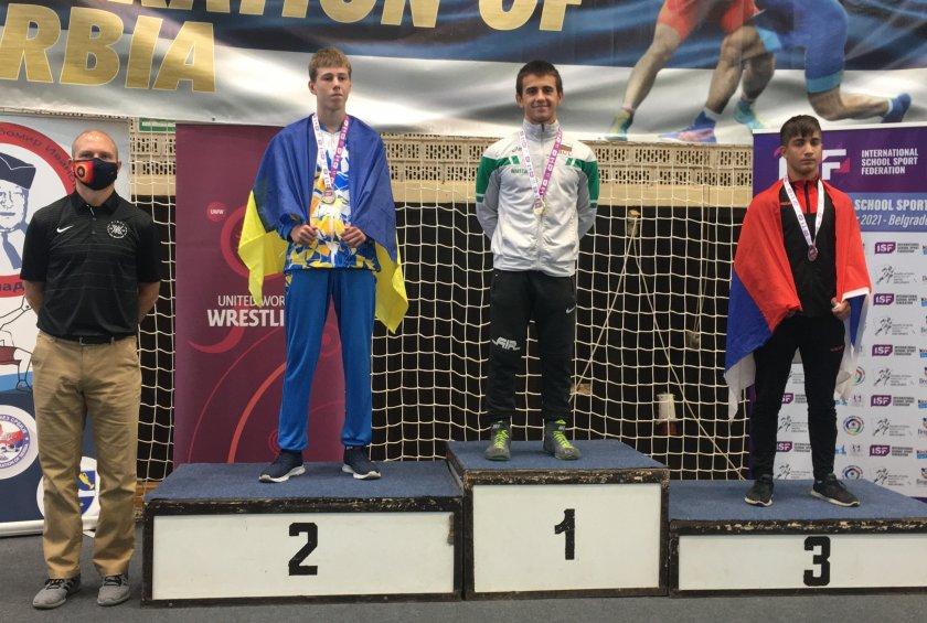 наш борец стана шампион световните ученически игри белград
