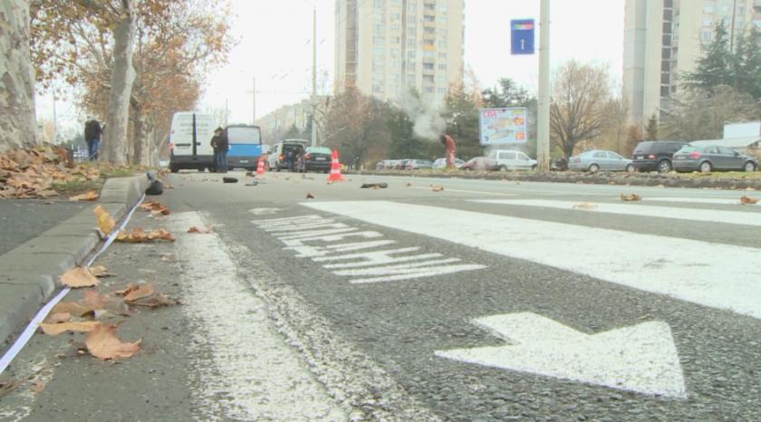 кола блъсна мъж пешеходна пътека бургас