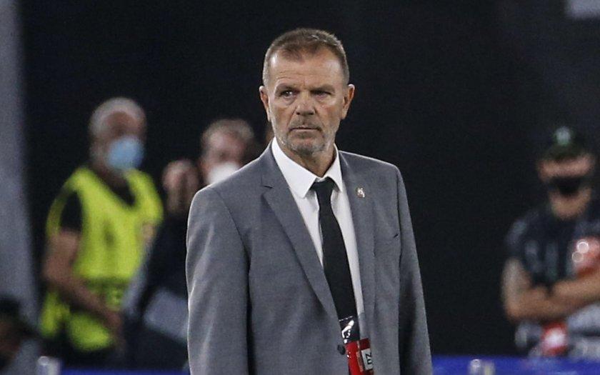 Стойчо Младенов: Мачът с Рома е голям опит, не заслужавахме този резултат