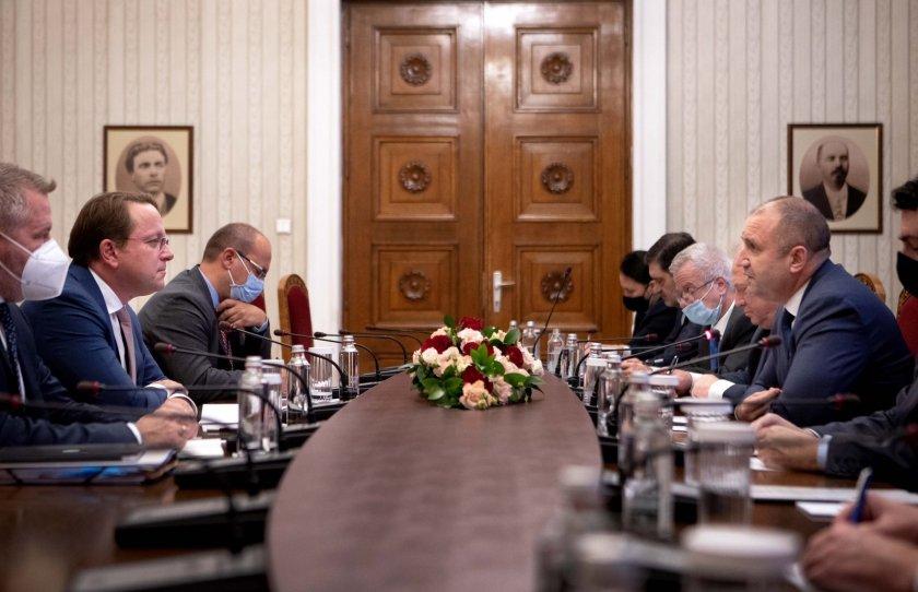 радев реални резултати диалога българия ускорят процеса европейска интеграция република северна македония